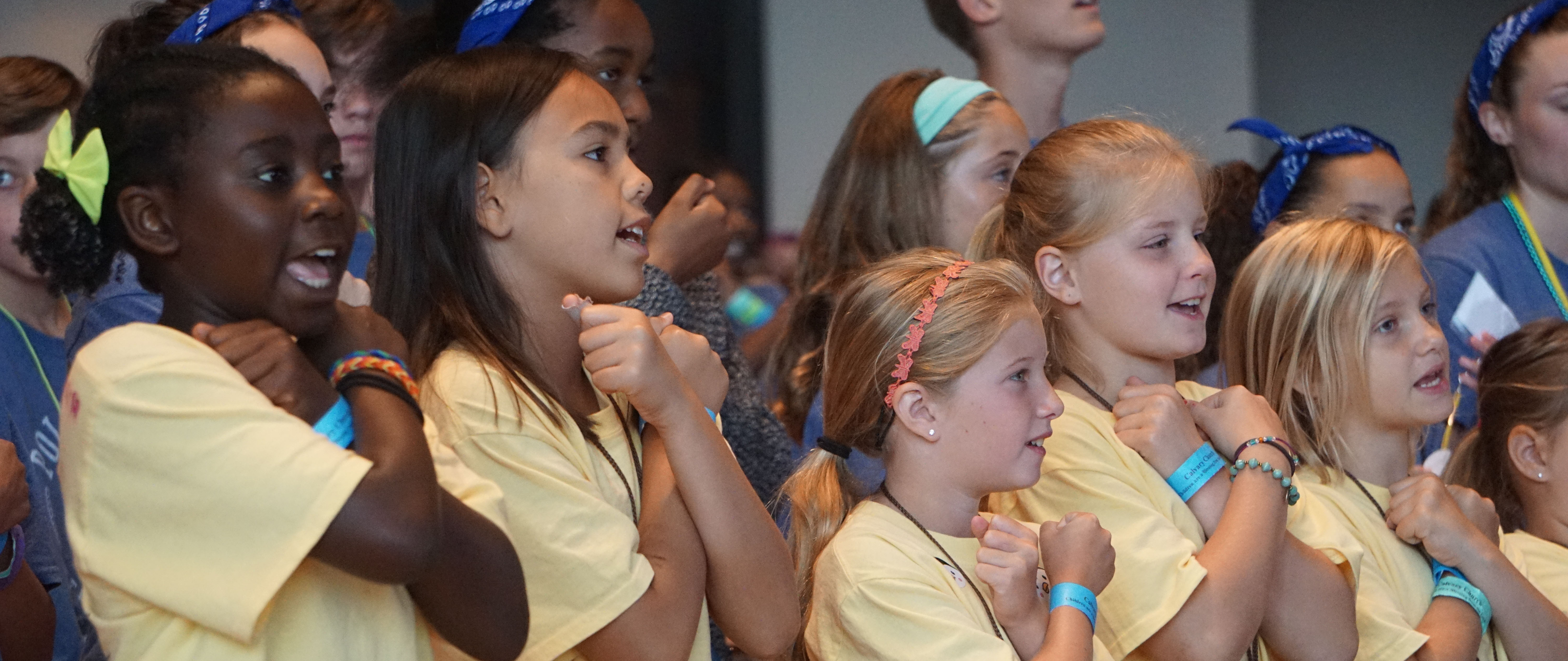 We love kids at Calvary!