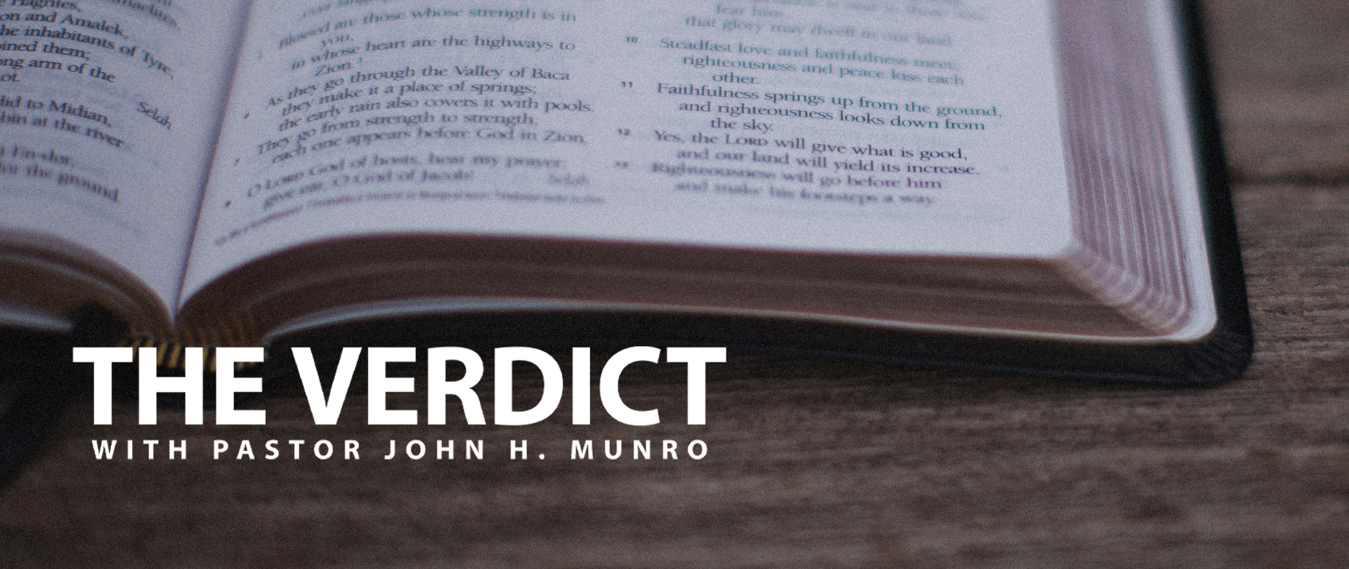 "Discover ""The Verdict""